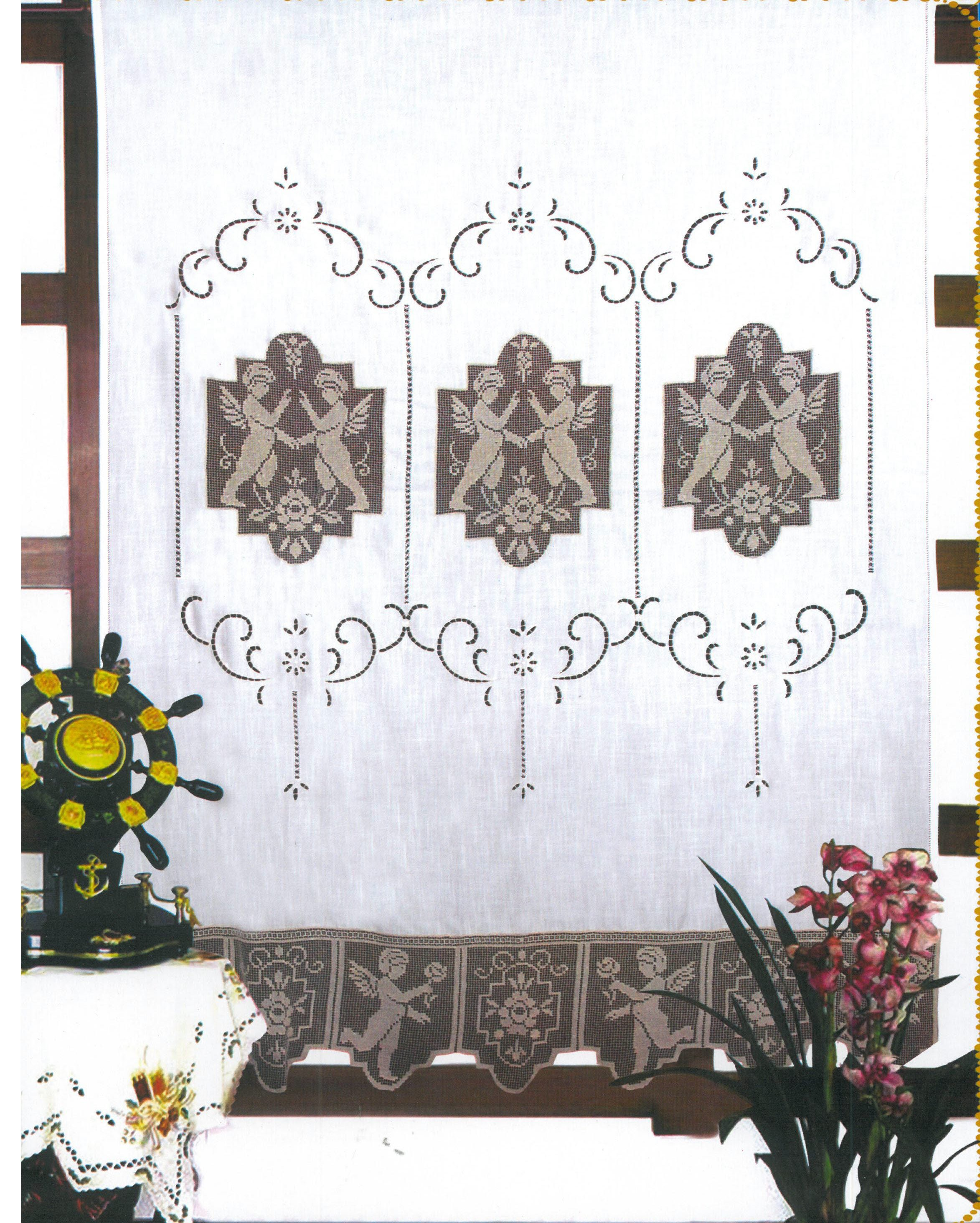 Lenzuola Matrimoniali Con Angeli.196 Euroricami Viterbo Tenda In Puro Lino Beige Ricamata Al File
