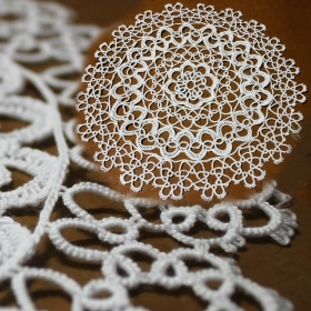 The centre of Tatting by 25