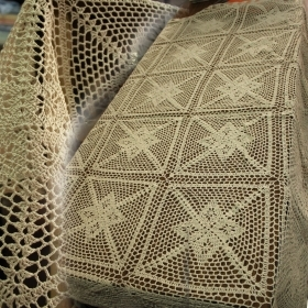 Cover A Round Table Crochet
