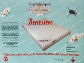 Mattress cover anti-MITE b 2 Squares With zipper AMICOR