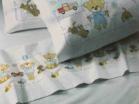 Bed Sheet Cot Printed