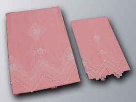 Pair towel Linen Paraded colorful