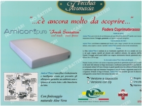 MATTRESS COVER ANTI-MITE WITH CORNERS 1 SQUARE