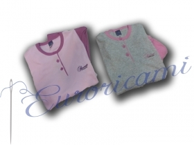 Pajama women warm cotton