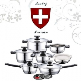 Battery Cookware 16-piece Royalty Line Switzerland
