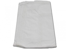 BED SHEET EMBROIDERED CHIACCHERINO 1 SQUARE 1067