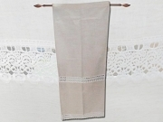 PAIR EMBROIDERED CURTAINS