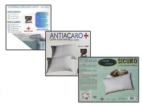 Set anti-dust MITE Full 4pcs For Single Bed With Zipper