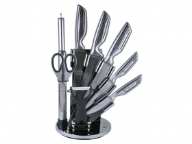 Set knives Imperial 9pz, with non-slip grip sleek exhibitor