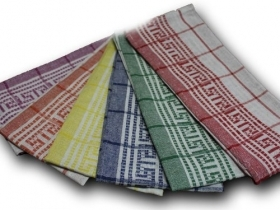 Set of 6 Dishcloths Greek