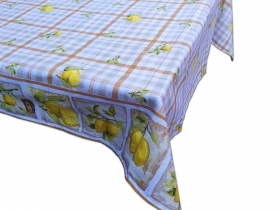 Tablecloth x12 in Pure Cotton Panama 140x240 cm