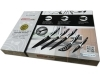 Set Knives QUALITY, EXTRA Ceramic Coated Swiss Line Switzerland 6-PIECE