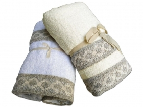 "Pair Towels 1-plus-1 ""East"""