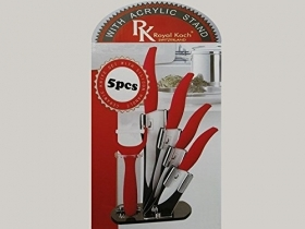Professional Set of Knives, Royal Koch Ceramic 5 pcs