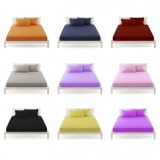 Full Cotton Sheets 1 square solid color