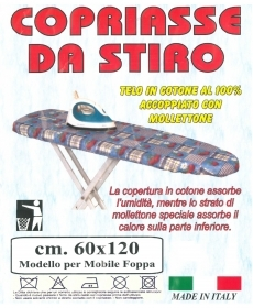 Copriasse ironing board 60 x 120 cm