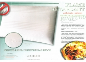 Pillow flame retardant