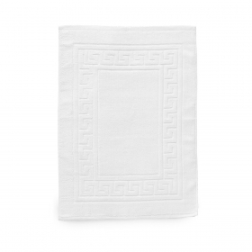 Bathroom rug White pure cotton