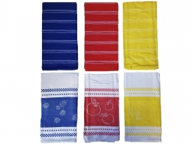 Set tea Towels 3 Piece kitchen honeycomb pure cotton