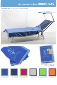 Beach towel in Microfiber with